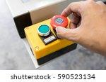 machine control panel for start ...   Shutterstock . vector #590523134