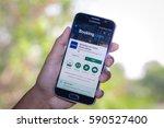 chiang mai thailand   march 1 ... | Shutterstock . vector #590527400