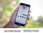 chiang mai thailand   march 1 ... | Shutterstock . vector #590527430