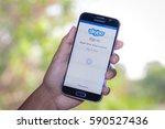 chiang mai thailand   march 1 ...   Shutterstock . vector #590527436