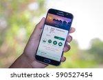 chiang mai thailand   march 1 ... | Shutterstock . vector #590527454