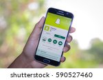 chiang mai thailand   march 1 ... | Shutterstock . vector #590527460