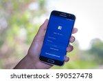 chiang mai thailand   march 1 ... | Shutterstock . vector #590527478