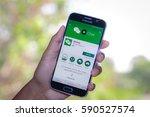 chiang mai thailand   march 1 ... | Shutterstock . vector #590527574