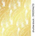 golden modern summer seamless... | Shutterstock .eps vector #590554673