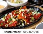 hwangtae gui is korean style... | Shutterstock . vector #590564048