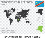illustrated country shape with... | Shutterstock .eps vector #590571059