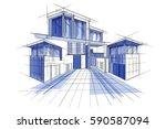 easy to edit vector...   Shutterstock .eps vector #590587094