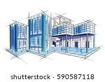 easy to edit vector... | Shutterstock .eps vector #590587118