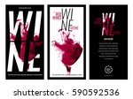 templates for promotions or... | Shutterstock .eps vector #590592536