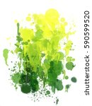 abstract beautiful color... | Shutterstock . vector #590599520