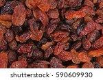 raisins as background grape...   Shutterstock . vector #590609930
