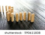 Sorting Domino Wooden Block On...