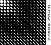 halftone texture. gradient... | Shutterstock .eps vector #590623766