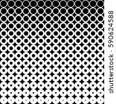 halftone texture. gradient... | Shutterstock .eps vector #590624588
