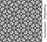 vector monochrome seamless... | Shutterstock .eps vector #590629016