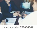 business team corporate... | Shutterstock . vector #590634344