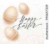 Happy Easter Lettering On...