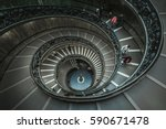 vatican   oct 18 visitors at... | Shutterstock . vector #590671478