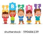 a vector illustration of a... | Shutterstock .eps vector #590686139