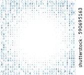 Binary Code Digital Technology...