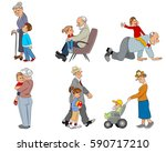 vector illustration of a... | Shutterstock .eps vector #590717210