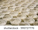 Italian Production Of Ricotta...