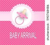 baby arrival | Shutterstock .eps vector #590768486