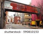 manchester  uk   february 26 ...   Shutterstock . vector #590810153