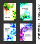 abstract glowing background....   Shutterstock .eps vector #590828870