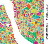 liverpool colorful vector map  ...   Shutterstock .eps vector #590833310