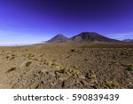 jama pass and view of juriques... | Shutterstock . vector #590839439