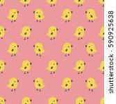 seamless pattern with cartoon...