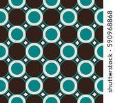 geometric vector pattern in... | Shutterstock .eps vector #590968868