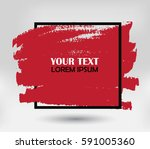 grunge background template... | Shutterstock .eps vector #591005360