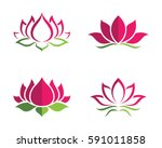 Beauty Vector Lotus Flowers...