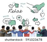 mental health care sketch... | Shutterstock . vector #591023678