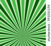 abstract retro rays green... | Shutterstock .eps vector #591031154