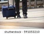 moment businessman  running... | Shutterstock . vector #591053210