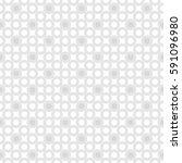 seamless monochrome geometric...   Shutterstock .eps vector #591096980