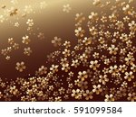 a vector background image with... | Shutterstock .eps vector #591099584