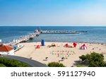 Sopot  Poland. Wooden Pier ...