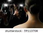 photographers are taking a... | Shutterstock . vector #59113708