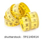 tape measure | Shutterstock . vector #591140414