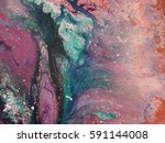 colorful acrylic background for ... | Shutterstock . vector #591144008