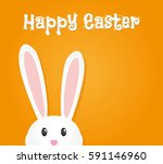 easter rabbit  easter bunny | Shutterstock .eps vector #591146960
