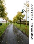 park scenery | Shutterstock . vector #591161270