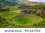 unique ancient inca circular...   Shutterstock . vector #591167543