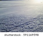 the snow sparkles of the sun | Shutterstock . vector #591169598