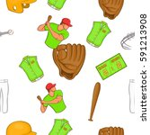 game with bat pattern. cartoon... | Shutterstock .eps vector #591213908